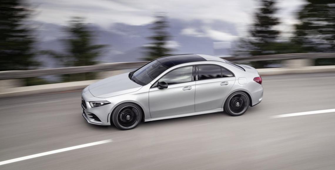 Die neue Mercedes-Benz A-Klasse Limousine-1