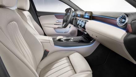 Die neue Mercedes-Benz A-Klasse Limousine Interieur-1