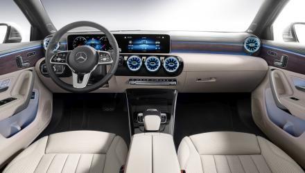 Die neue Mercedes-Benz A-Klasse Limousine Interieur