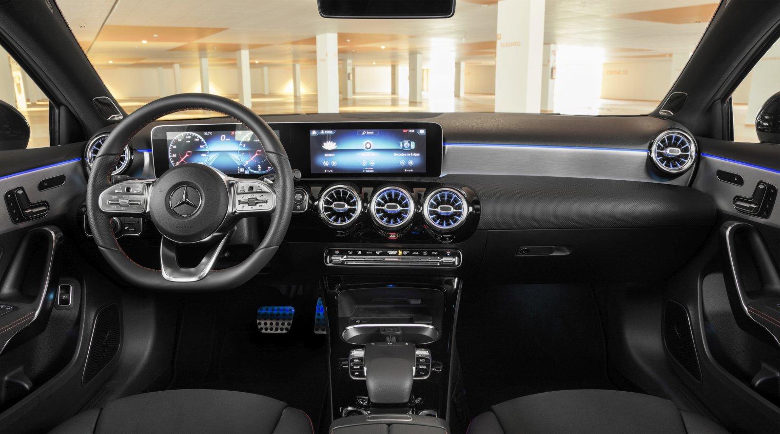 Mercedes Benz Cla  Amg Interior