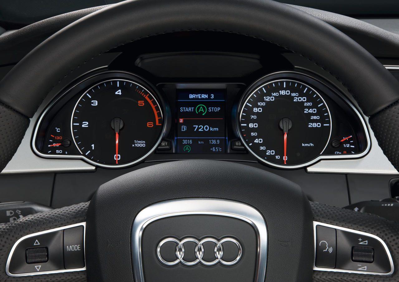 Start-stop system - display