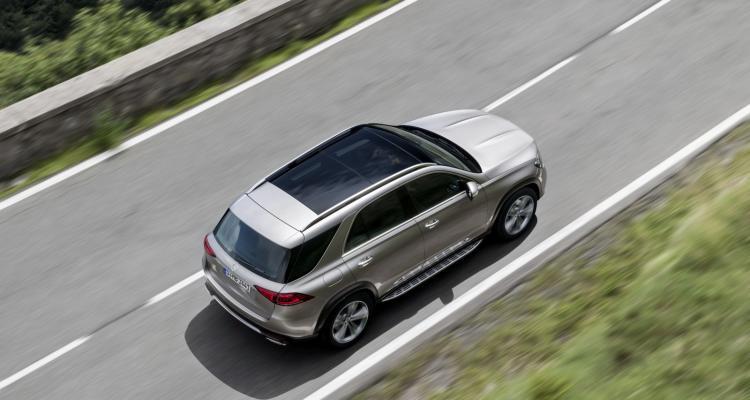 Der neue Mercedes-Benz GLE-4