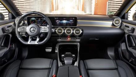 Mercedes-AMG A 35 4MATIC, Leder Tita