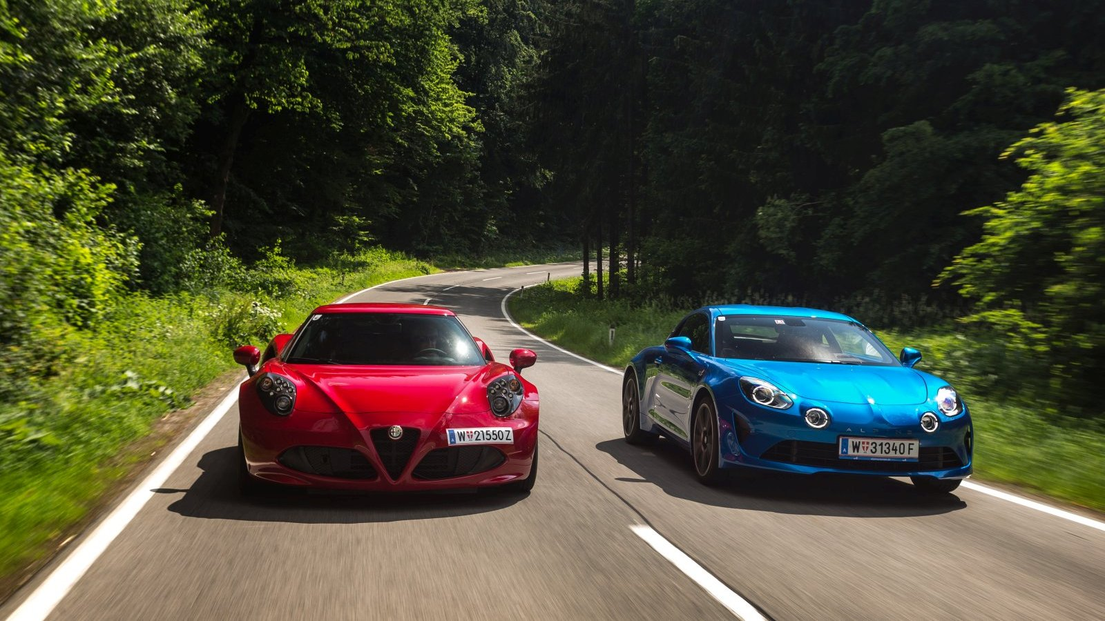 Wonderbaarlijk Vergleichstest: Alpine A110 gegen Alfa Romeo 4C - ALLES AUTO AJ-78