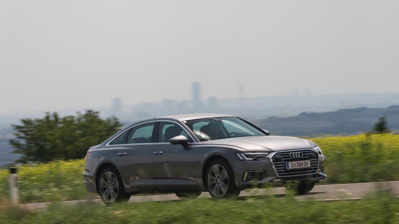 Die Silhouette mag an den alten A6 erinnern. Doch bis hin zur hohen Fahrdynamik überflügelt der neue große Audi seinen Vorgänger in praktisch allen Kapiteln.