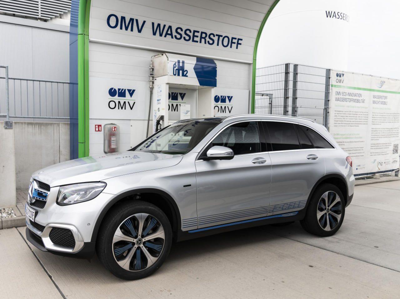 Schon bestellbare Zukunft: Der Wasserstoff-Akku-Hybrid GLC Fuel Cell ist  der Vorgriff von Mercedes auf das, was nach dem batterieelektrischen Hype kommt.