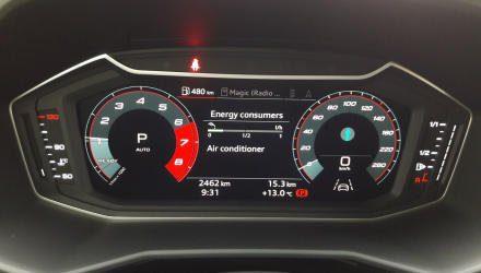 Und sie bewegen sich doch:  Erstmals bietet Audi Digital- Instrumente serienmäßig und  nicht als teures Extra an.