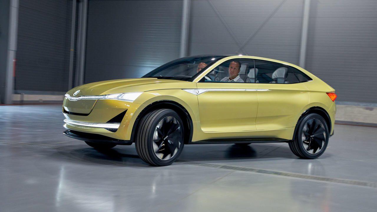 Seit der ersten Fahr-Präsentation des noch ein wenig futuristischen Prototypen ist es ein wenig still  geworden um den 2020 auf den Markt  startenden Strom-Crossover  von Skoda.