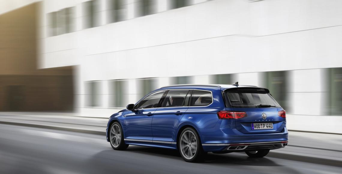 The new Volkswagen Passat Variant R-Line