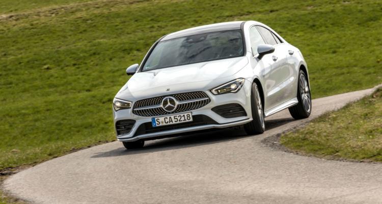 Mercedes-Benz Presse Fahrvorstellung CLA Coupé. München 2019// Mercedes-Benz Press Test Drive. Munich 2019