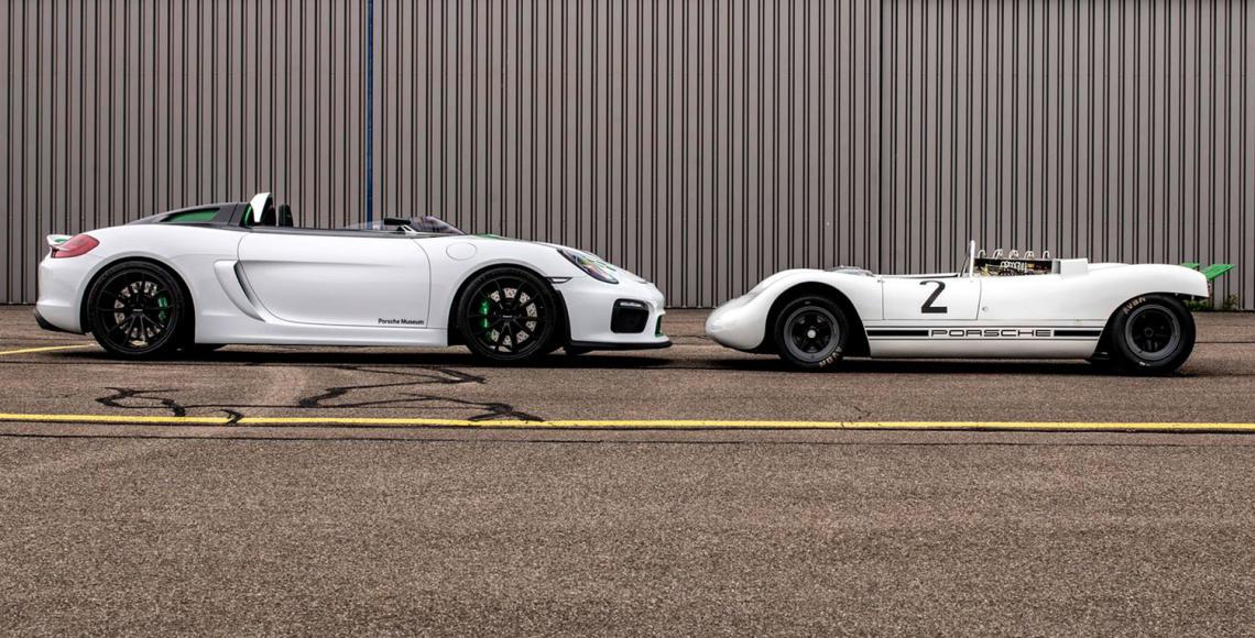 Porsche-909-Bergspyder-und-Porsche-981-Bergsypder-1