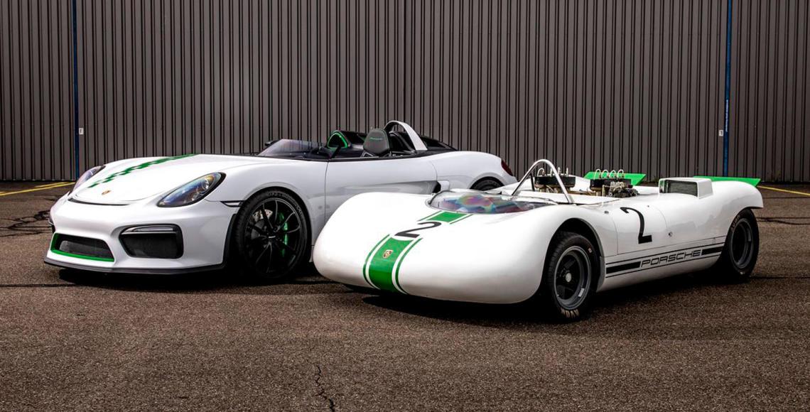 Porsche-909-Bergspyder-und-Porsche-981-Bergsypder-2