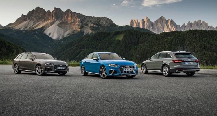 Audi A4 Avant, Audi S4 Sedan TDI, Audi A4 allroad quattro