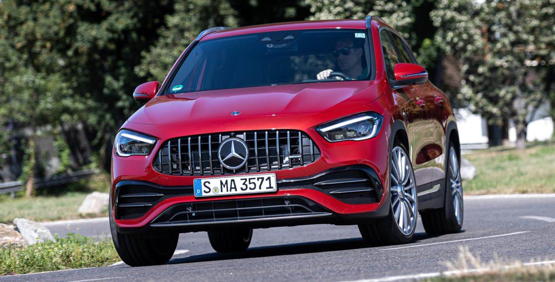 ALLES AUTO Mercedes-AMG GLA 35 Robert May #1