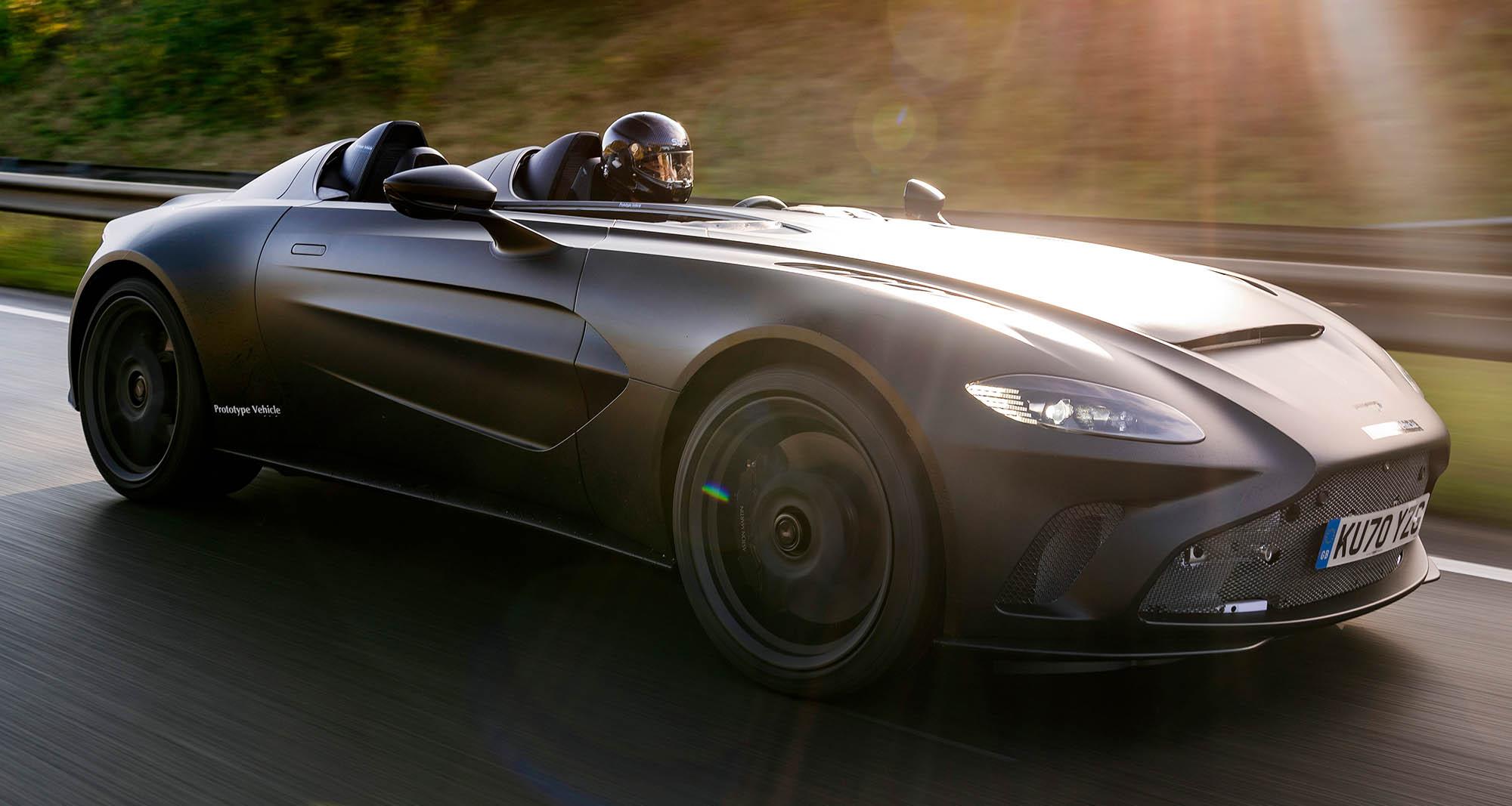 Puristisch Und Rar Aston Martin V12 Speedster Alles Auto
