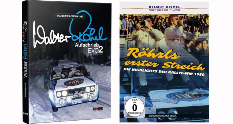Walter Röhrl DVD und Autobiografie