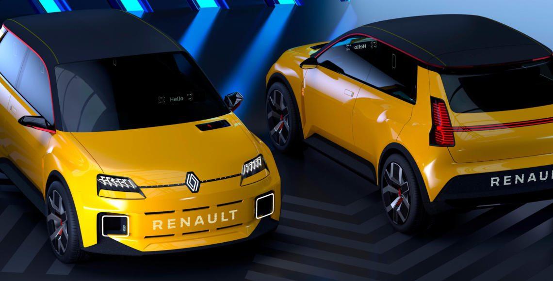 ALLES AUTO Renault 5 Prototype 5