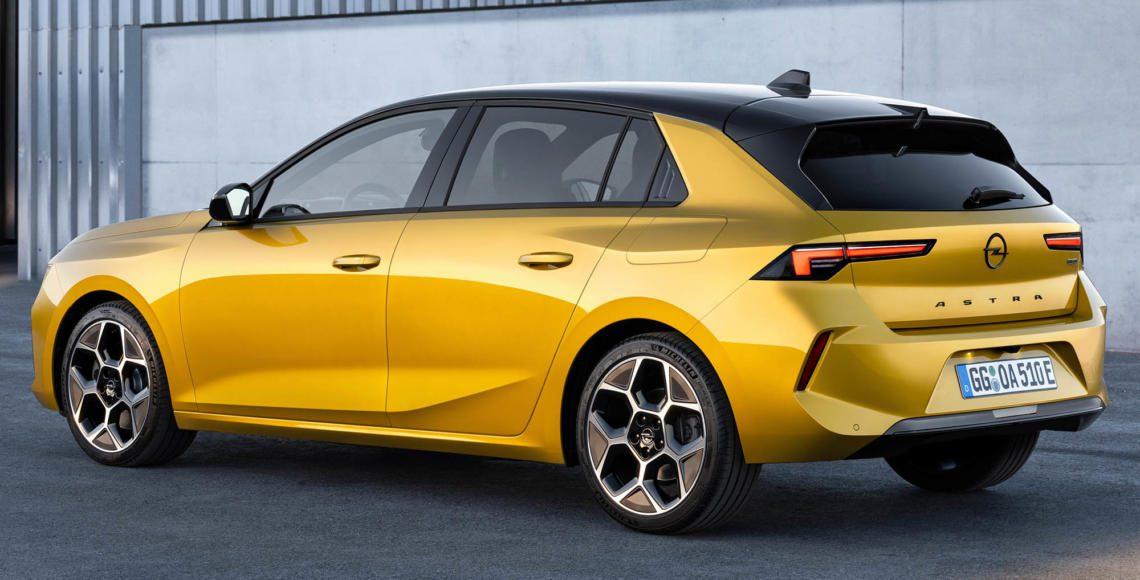 ALLES AUTO Opel Astra 2021